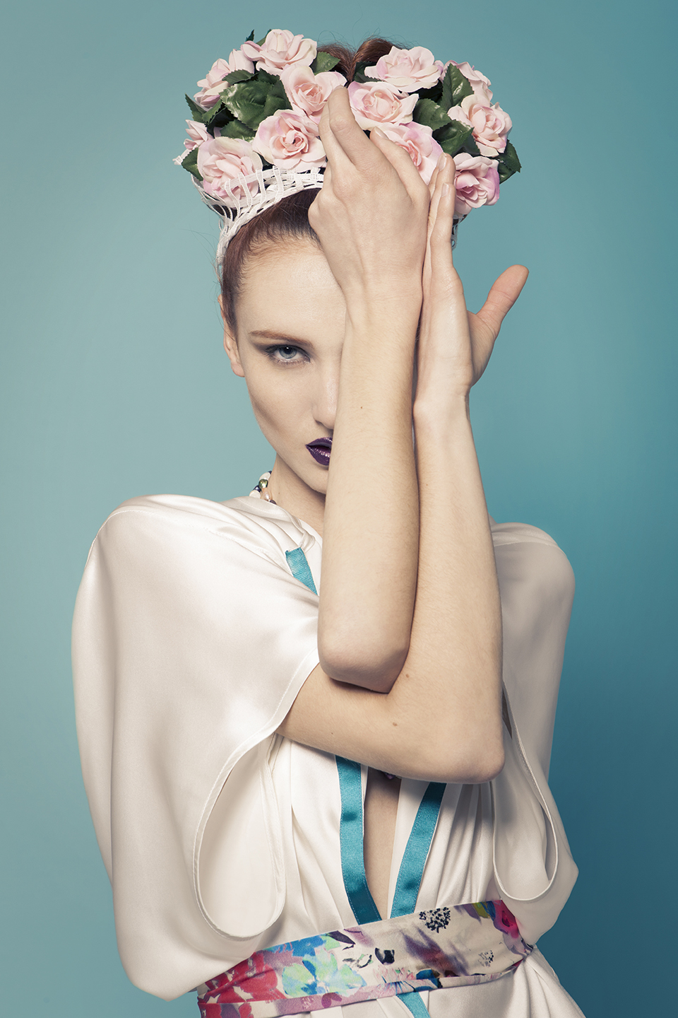 Flower Power - fashion editorial for Stilo Magazine - Galli / Trevisan photographers