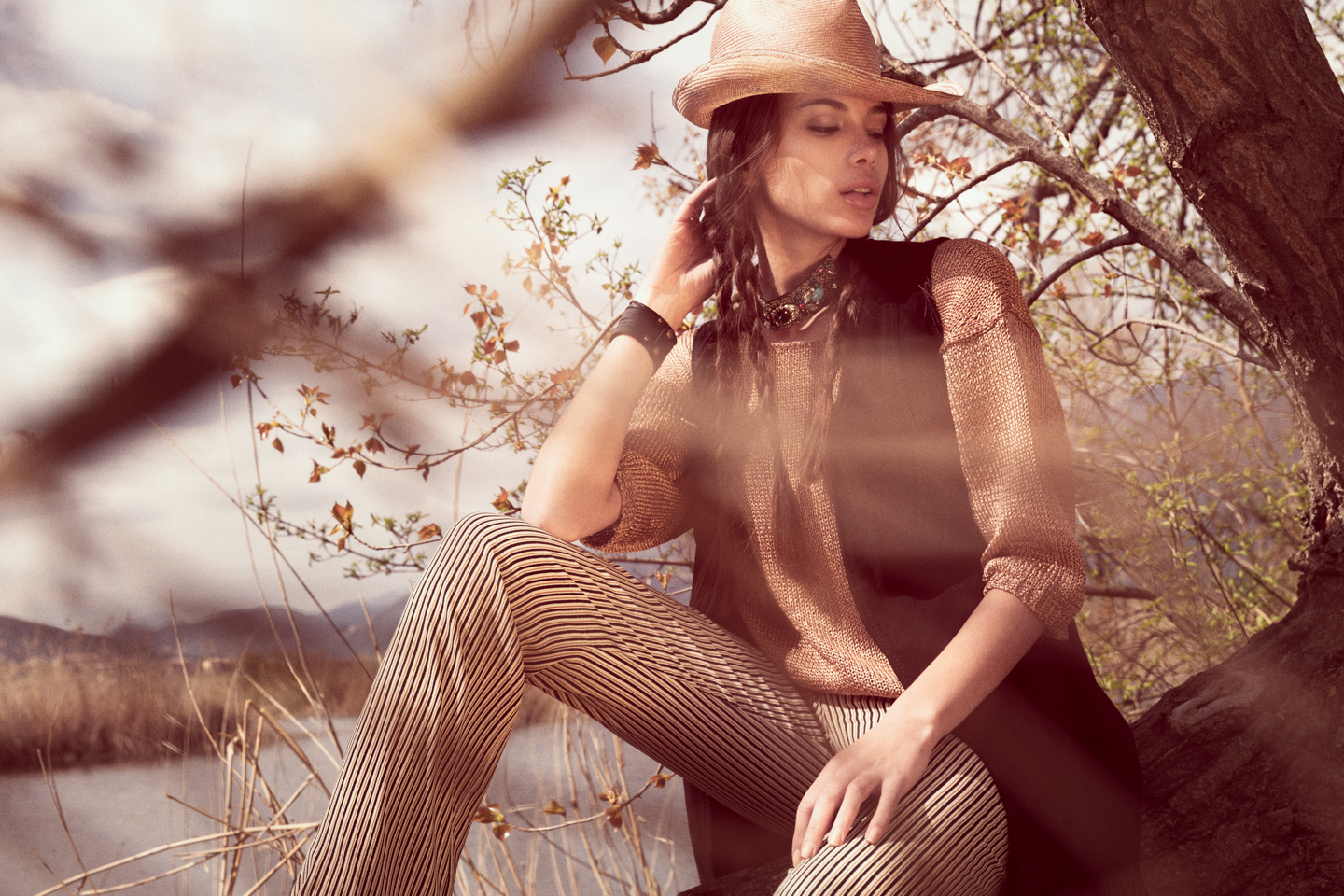 Born on the bayou - fashion editorial for Switch Magazine - Galli / Trevisan photographers