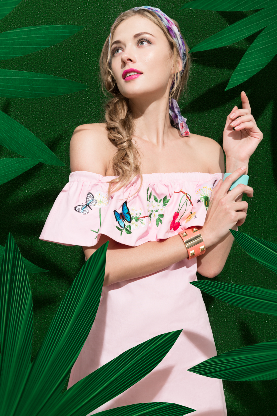 Tropical Holiday - fashion editorial for Switch Magazine - Galli / Trevisan photographers