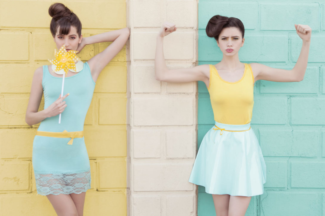 Pastelville - fashion editorial for Idole Magazine - Galli / Trevisan photographers